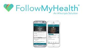 Follow My Health Logo with Mobile Phones Photos